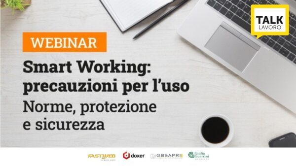 webinar Smart Working: precauzioni per l'uso